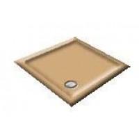 1400 Harlequin Sandalwood Offset Pentagon Shower Trays