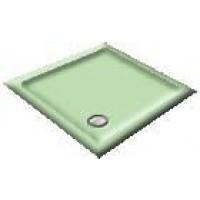 1400 Light Green Offset Pentagon Shower Trays