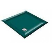 900X800  Penthouse Green Offset Quadrant Shower Trays