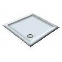 1000X800 Whisper Blue Offset Quadrant Shower Trays