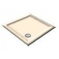 900X800 Whisper Creme Offset Quadrant Shower Trays