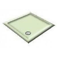 900X760 Whisper Green Offset Quadrant Shower Trays