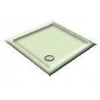 900X800 Whisper Green Offset Quadrant Shower Trays
