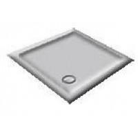 900X760 Whisper Grey Offset Quadrant Shower Trays