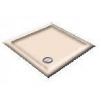 900X800 Whisper Peach Offset Quadrant Shower Trays