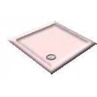 900X760 Whisper Pink Offset Quadrant Shower Trays