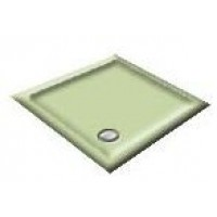 900X760 Willow Green Offset Quadrant Shower Trays