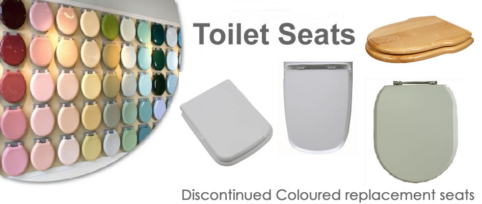 Coloured toilet seats